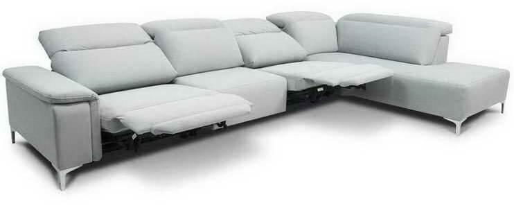 Купить нераскладной диван с электрическим реклайнером