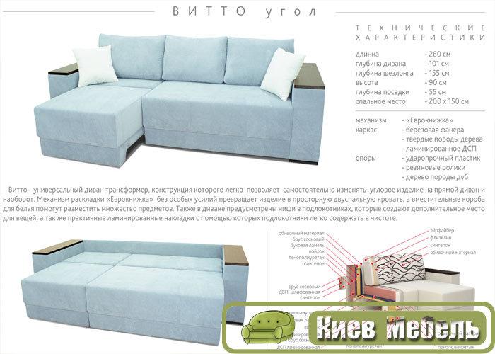 купитьнедорого угловой диван витто в киеве мф амерс г черкассы