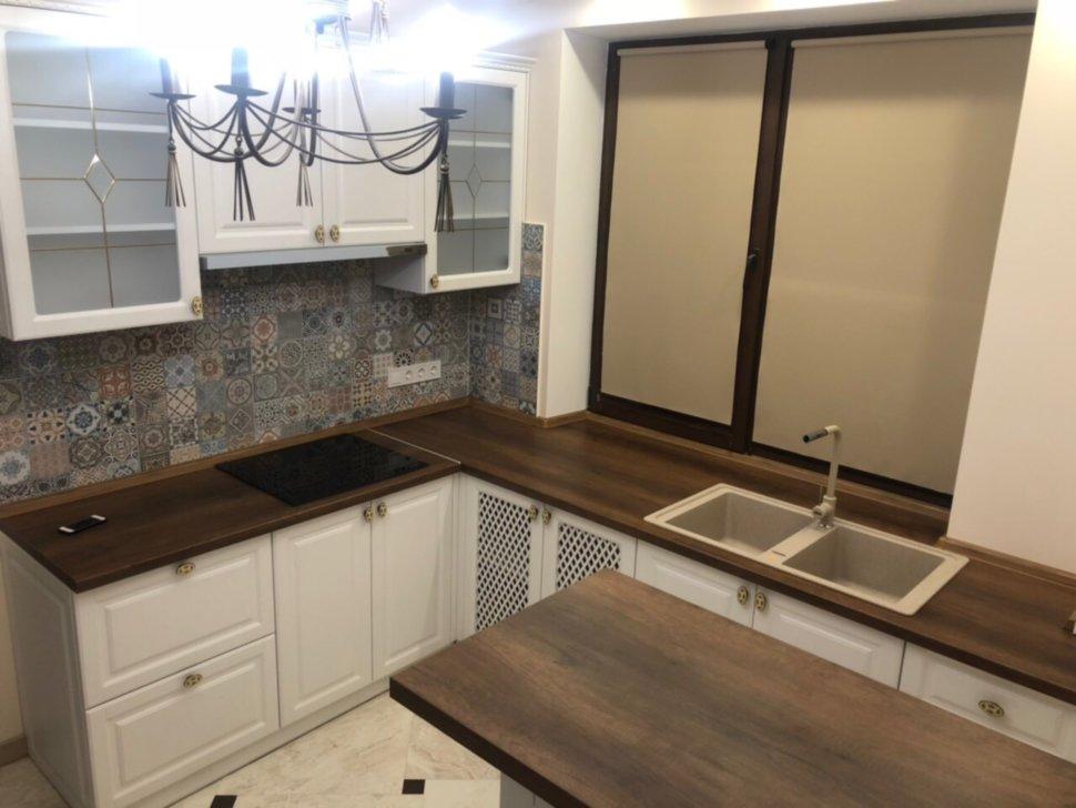 киев купить белая угловая кухня от производителя мебельная